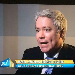 ROAA Na Mídia: O Sócio Dr. Rafael Oliveira Concedeu Entrevista à Rede GLOBO Sobre O PL De Recuperação Fiscal Dos Estados