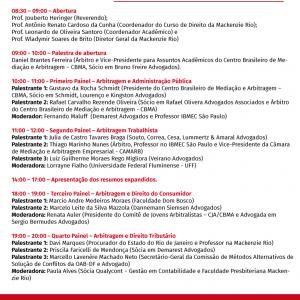 O Sócio, Dr. Rafael Oliveira, Foi Palestrante Em Evento De Arbitragem No RJ